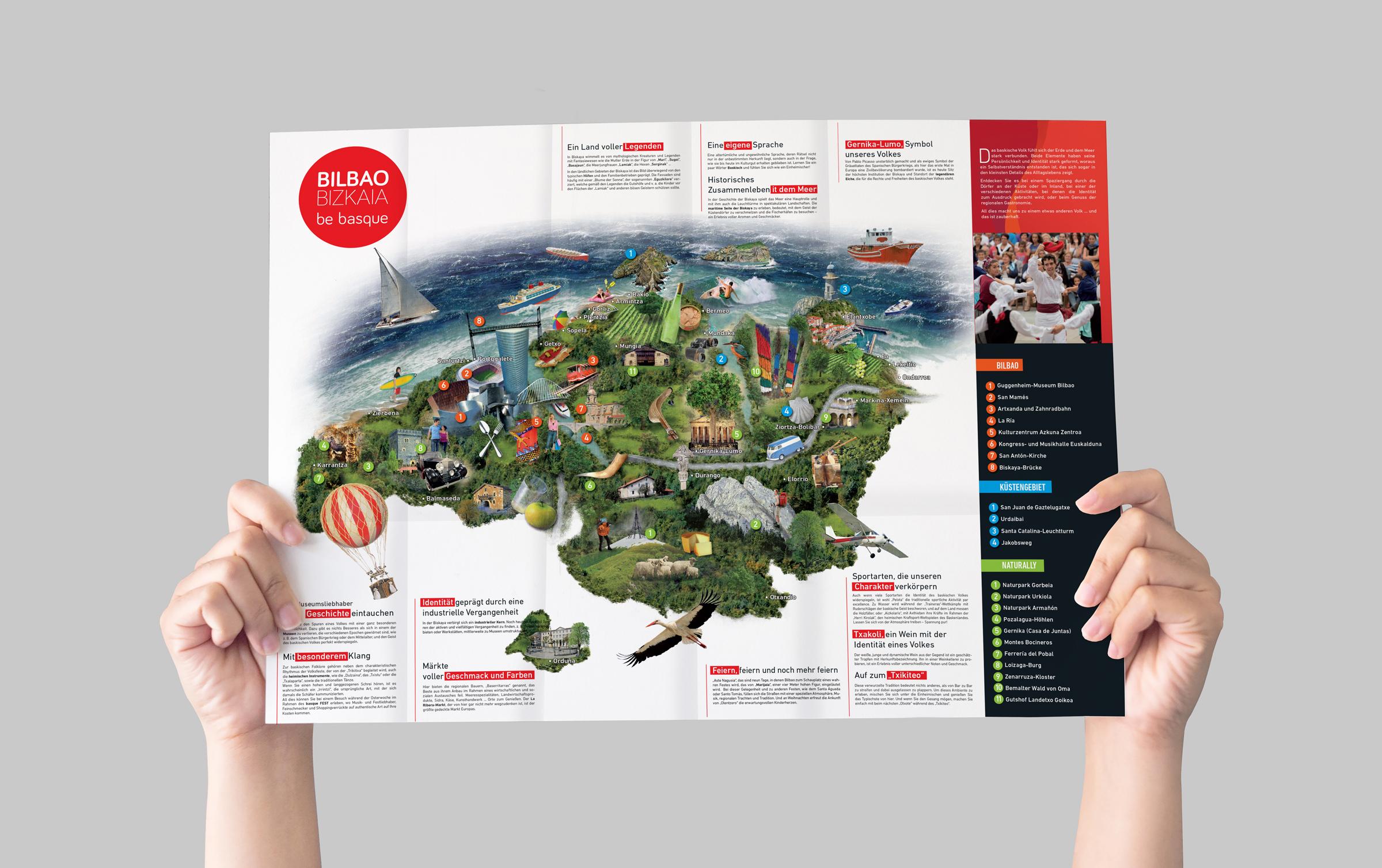 Bilbao Turismo – Gaika egindako plano zabalgarriak