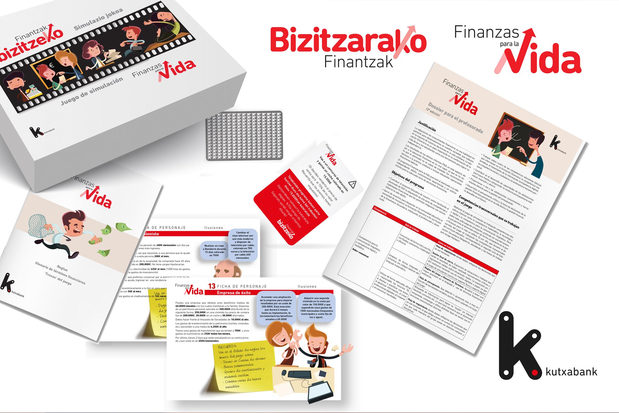 Kutxabank – Heziketa finantzieroari buruzko eskolako programaren material didaktikoa