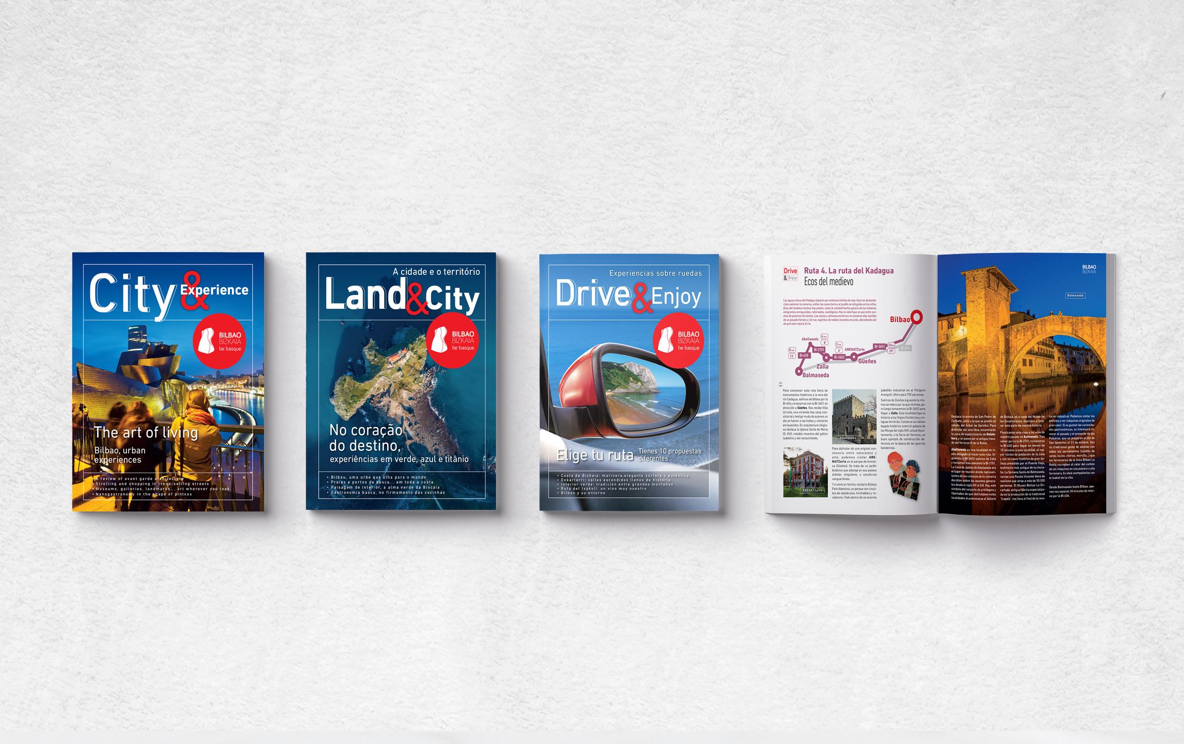 Bilbao Turismo - Folletos-revista turísticos