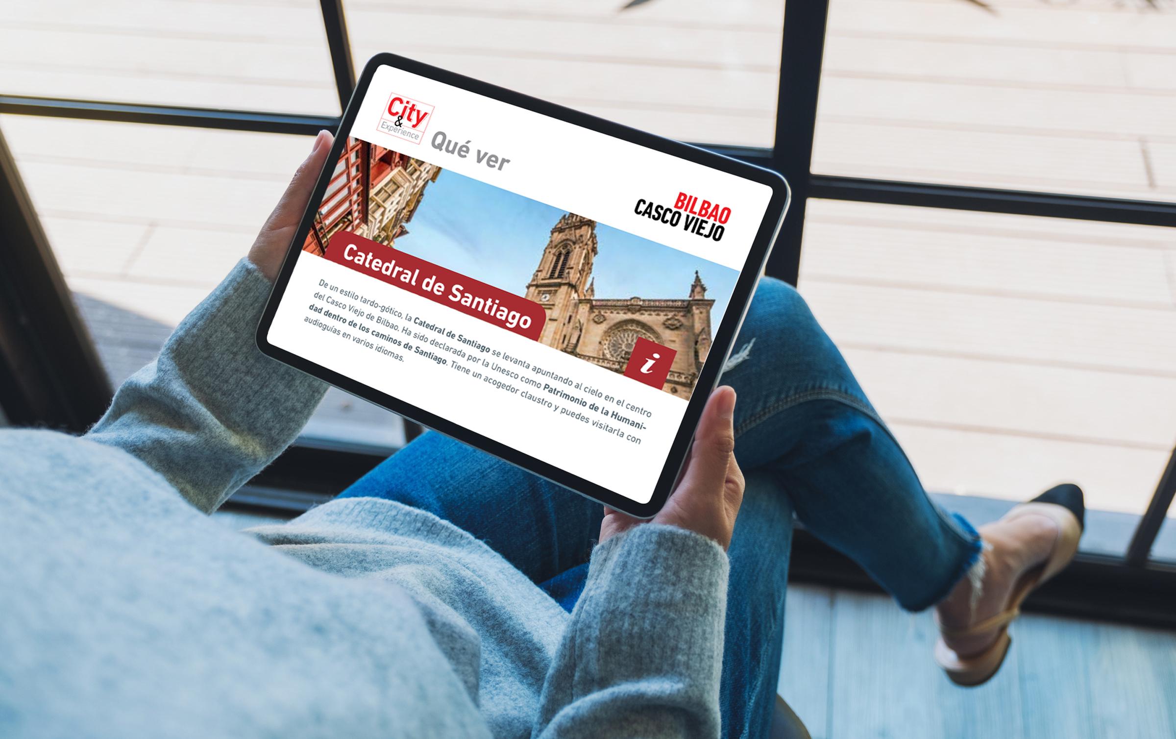 Bilbao Turismo – Material interactivo