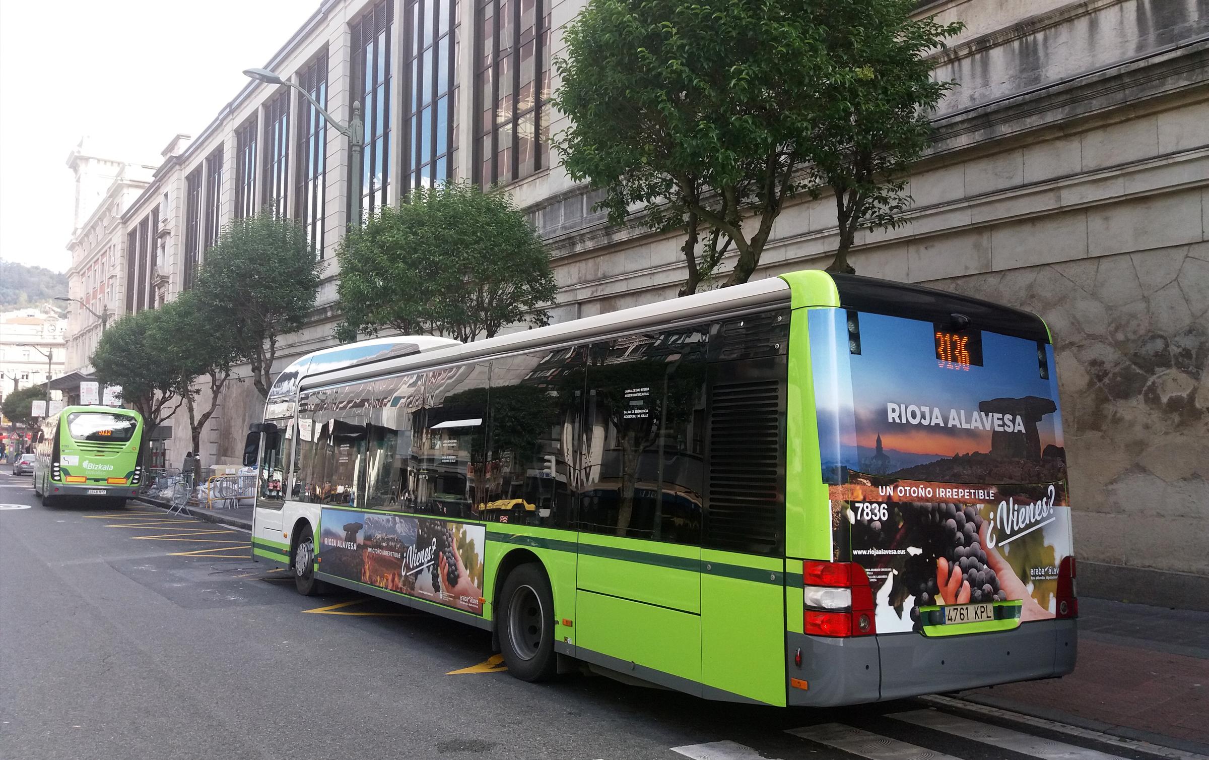 Cuadrilla de Rioja Alavesa – Campaña de promoción turística – Bilbobus