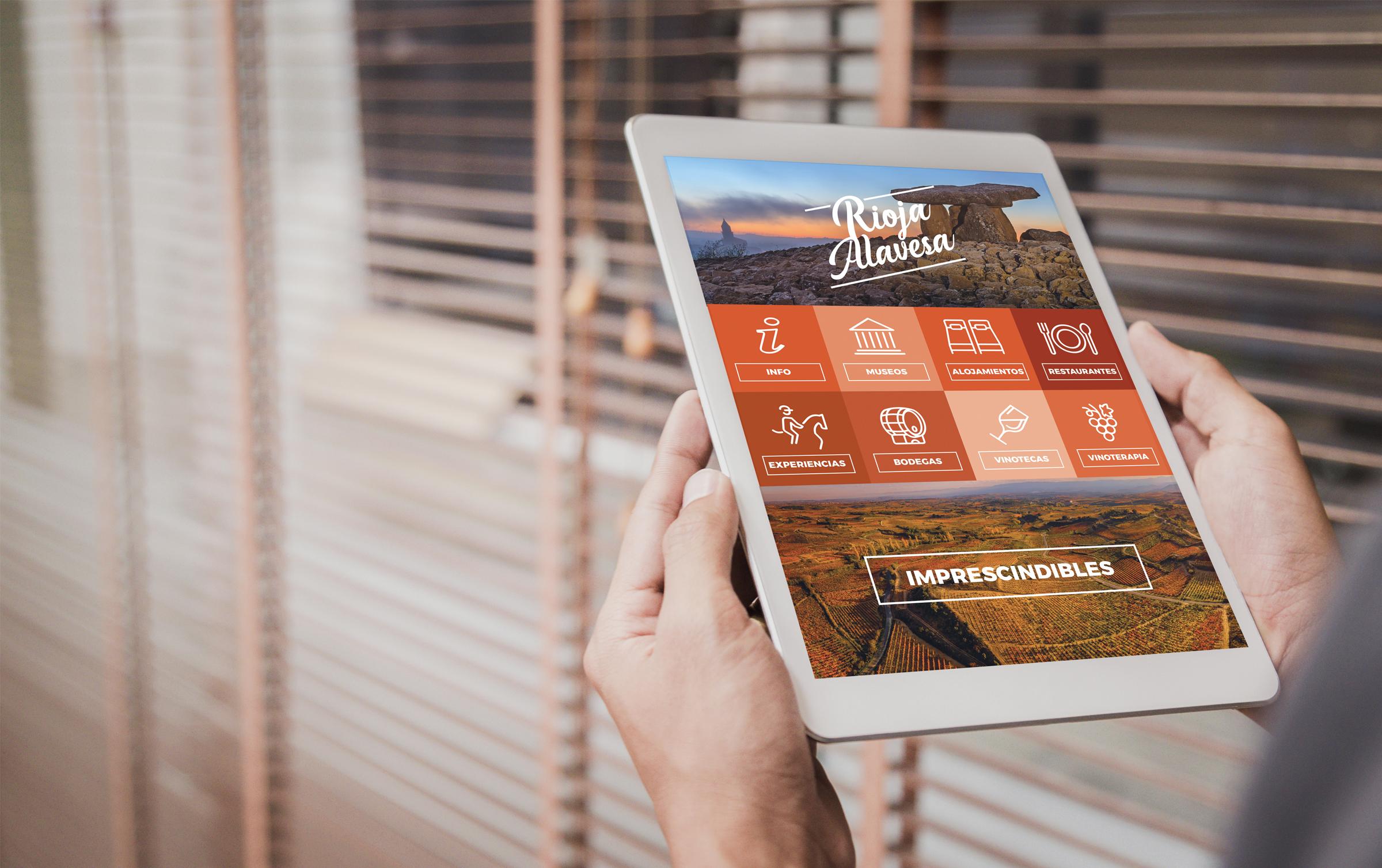 Cuadrilla de Rioja Alavesa – Campaña de promoción turística – Minisite