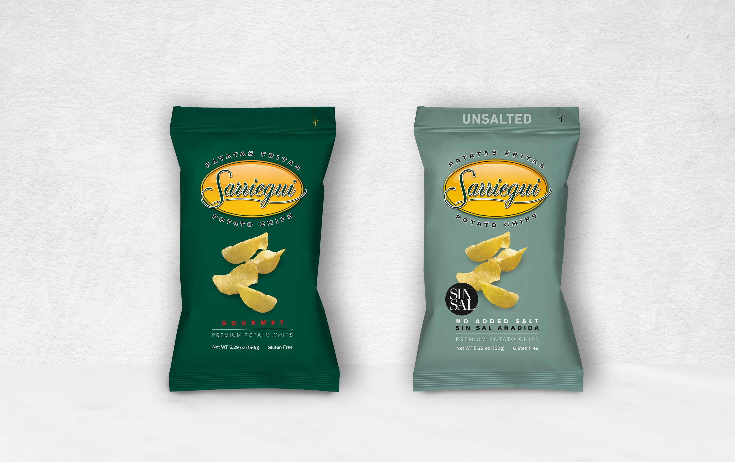 Patatas Sarriegui – Branding y Packaging.