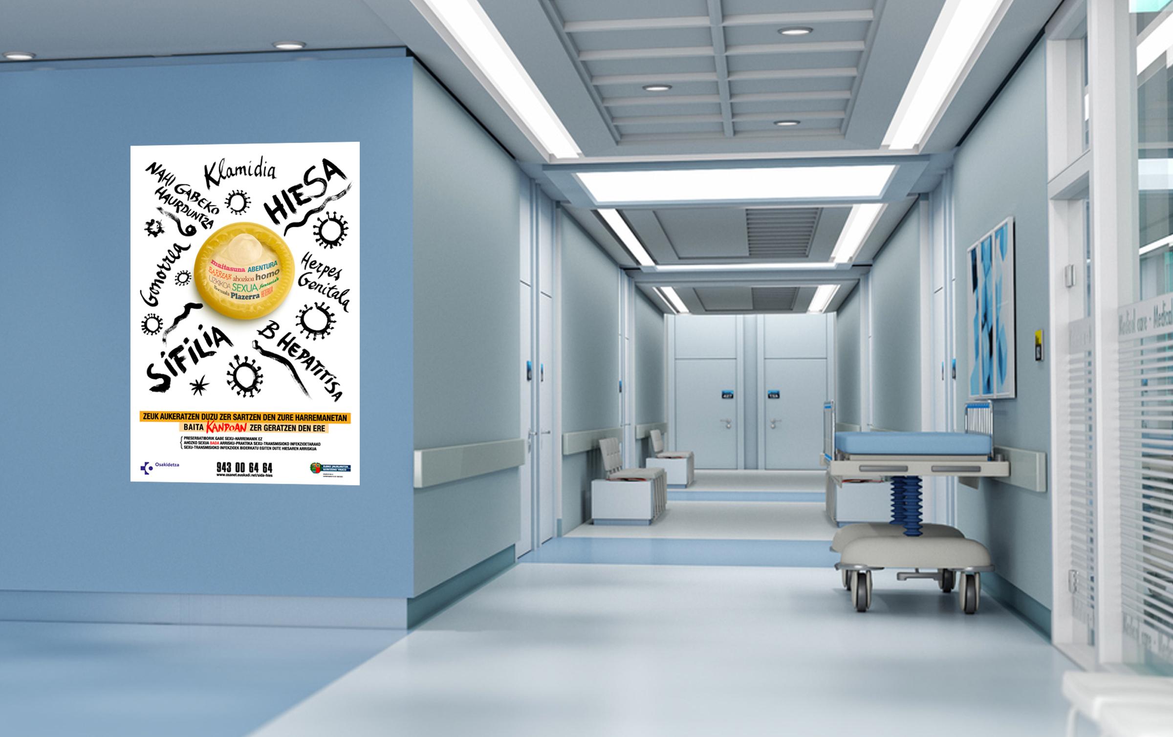 Cartel campaña SIDA