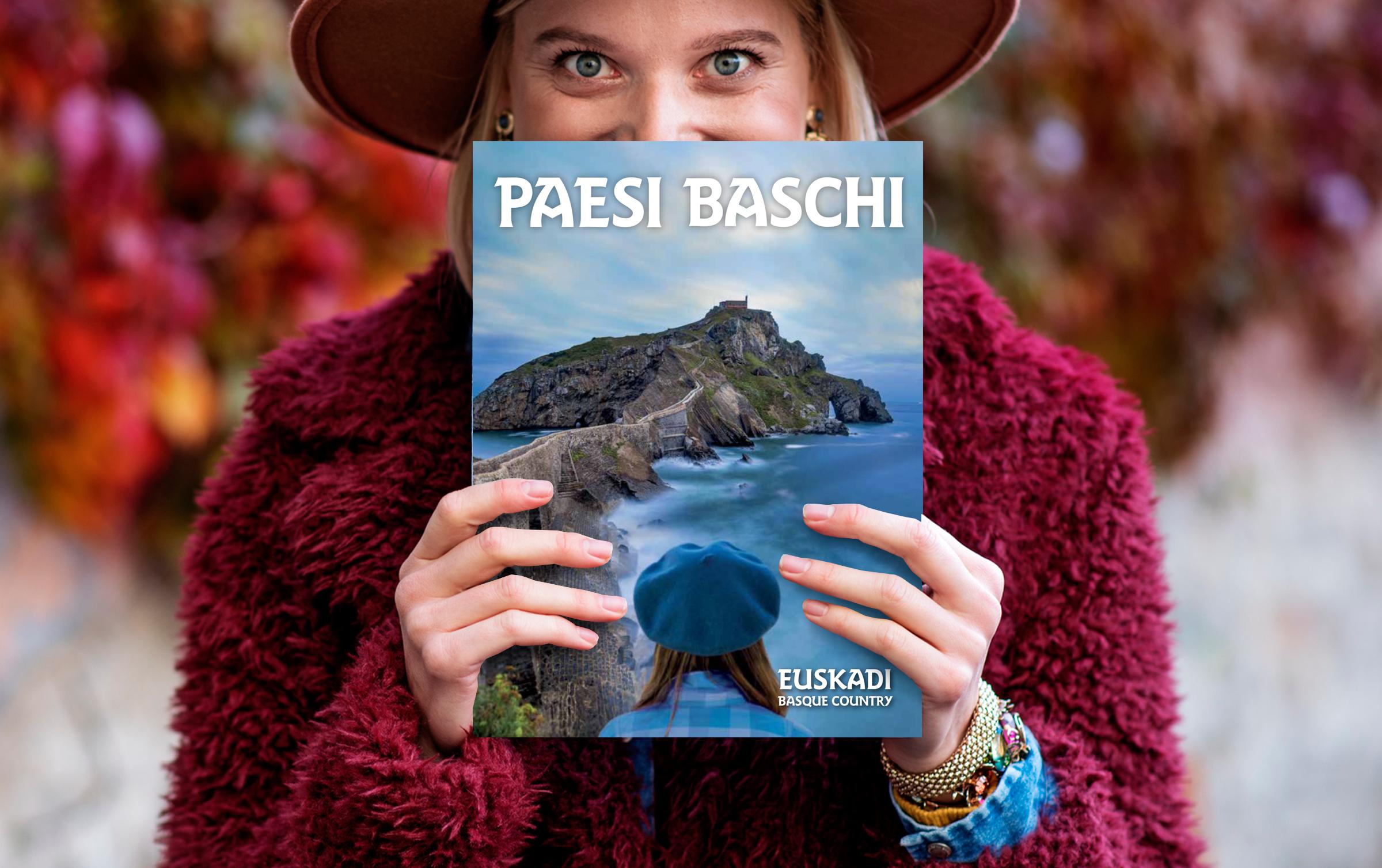 Turismoko katalogo orokorra italieraz