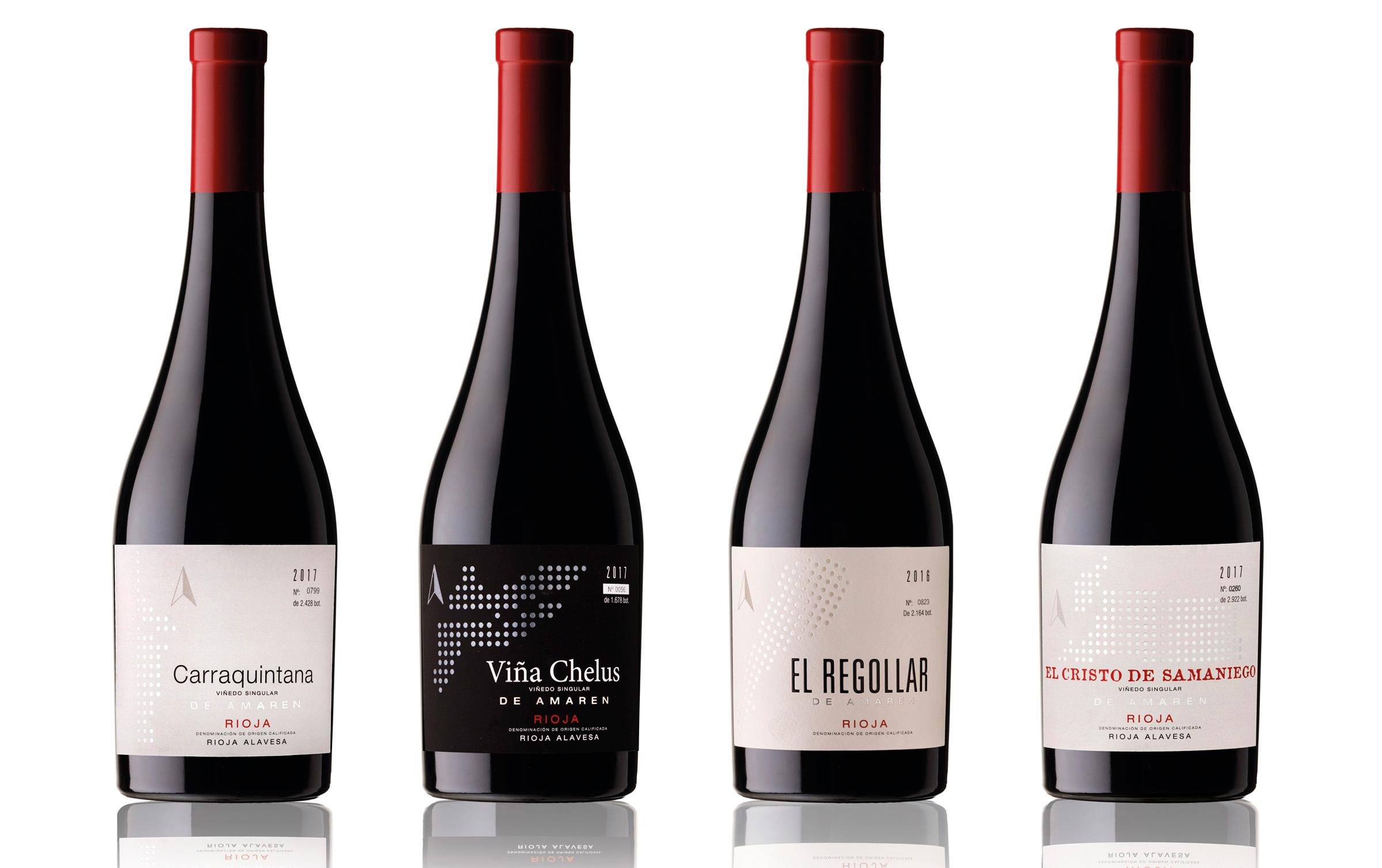 Etiquetas para vinos de viñedos singulares