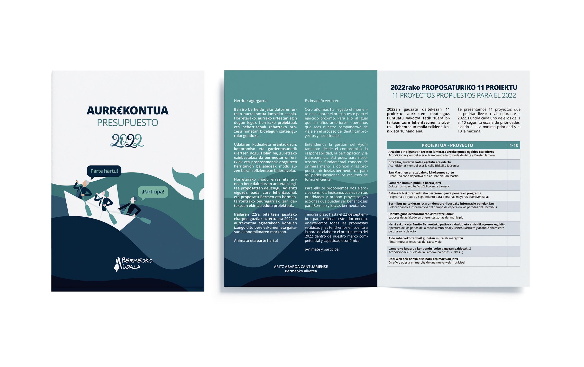 Folleto presupuestos participativos